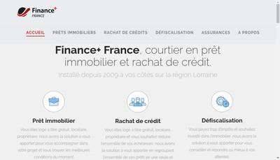 Site internet de Finance Plus