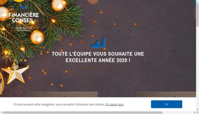 Site internet de Financiere Conseil