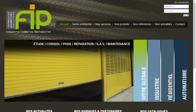 Site internet de Fip Industries