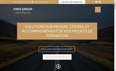 Site internet de First Group