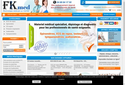 Site internet de Fkmed