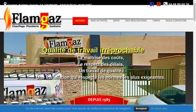 Site internet de Flamgaz