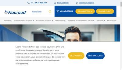 Site internet de Flauraud SA
