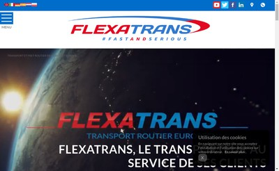 Site internet de Flexatrans