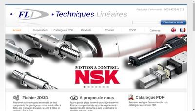 Site internet de France Lineaire Industrie