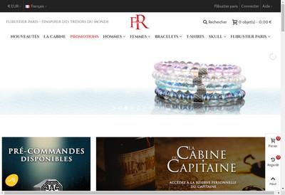 Site internet de Flibustier Paris