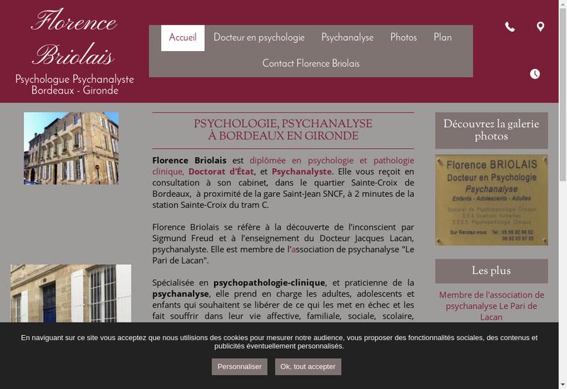 Capture d'écran du site de Mille et un Jardin