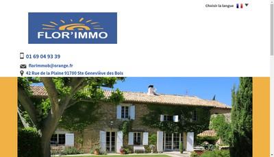 Site internet de Flor'Immo