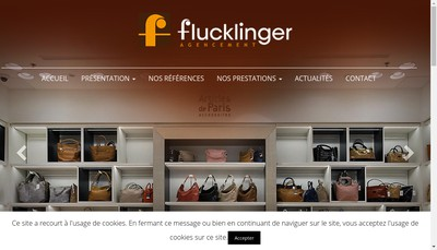 Site internet de R Flucklinger