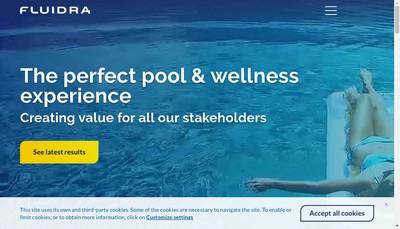 Site internet de Fluidra Industry France
