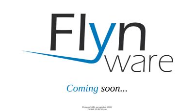 Capture d'écran du site de Flynware