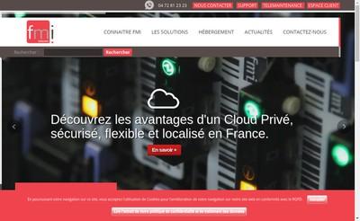 Site internet de Fmi Infogerance