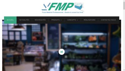 Capture d'écran du site de FMP