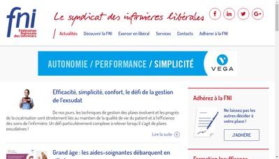 Site internet de FNI