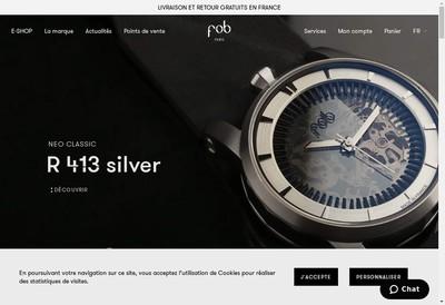 Site internet de Fob