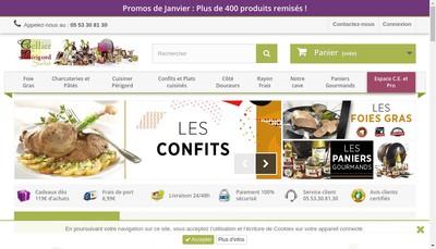 Site internet de Le Cellier du Perigord