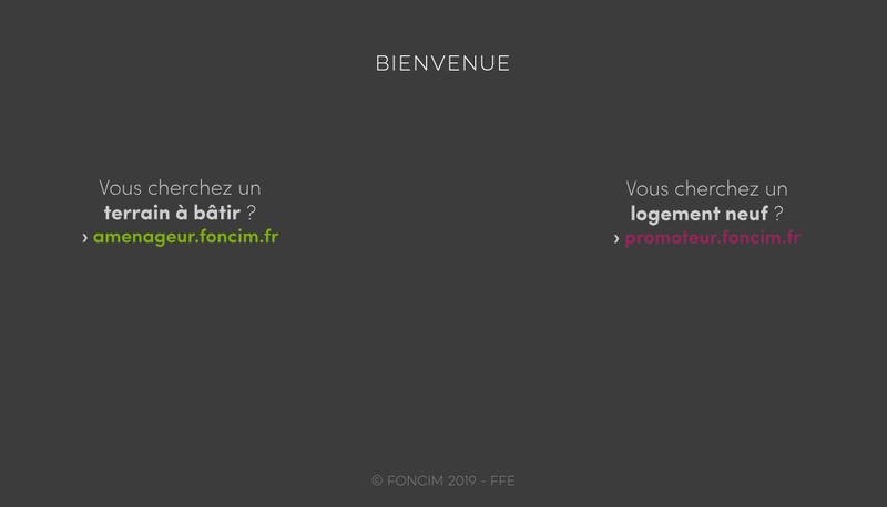 Capture d'écran du site de Foncim Promotion