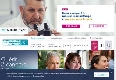 Site internet de Arc
