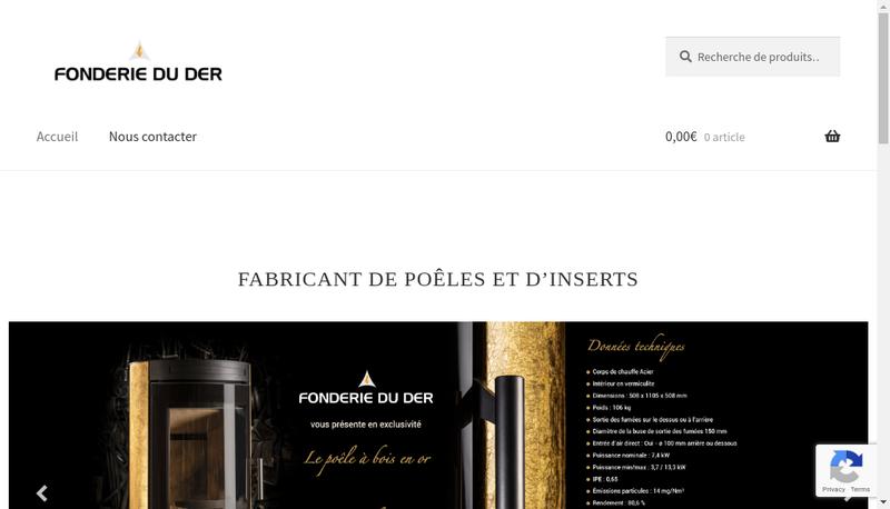 Site internet de Fonderie du Der
