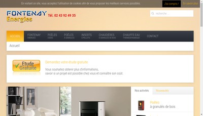 Site internet de Solaire Pose