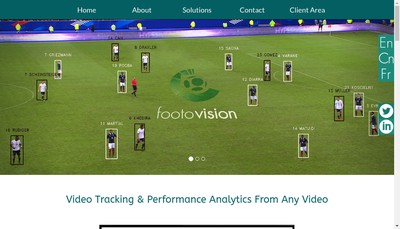 Site internet de Footovision