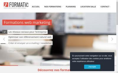 Site internet de Formatic 2000