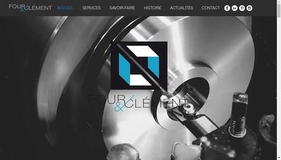Site internet de Four et Clement