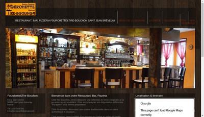 Site internet de Fourchette & Tire Bouchon