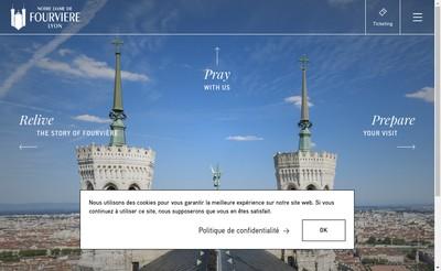 Site internet de Fondation de Fourviere