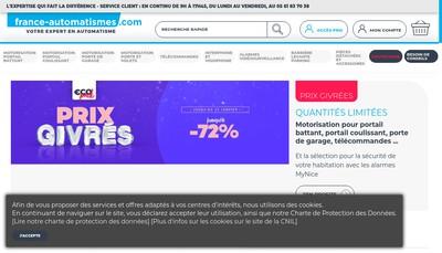Site internet de France-Automatismes Com