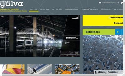 Site internet de France Galva