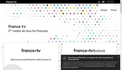Site internet de France Televisions