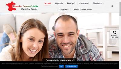 Site internet de Credocil-Senior Credits-Franche-Comte Credits F2C