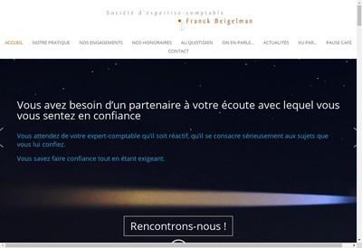 Site internet de Cabinet Franck Beigelman