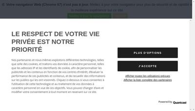 Site internet de Le Petit Maroquinier