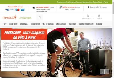 Site internet de Franscoop
