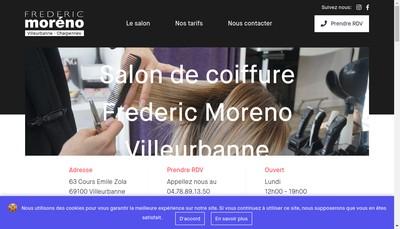 Site internet de Frederic Moreno