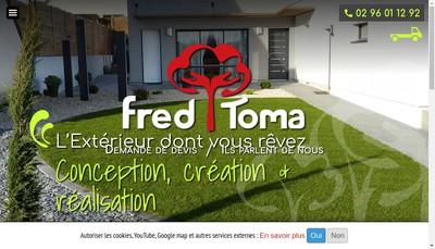 Site internet de Fred Toma
