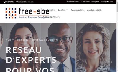 Site internet de Free-Sbe