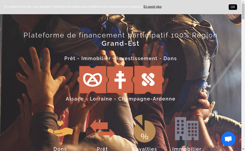 Capture d'écran du site de Freelendease