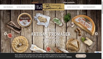Site internet de Fromagerie Baechler