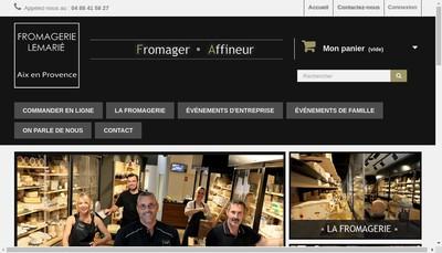 Site internet de Fromagerie Lemarie