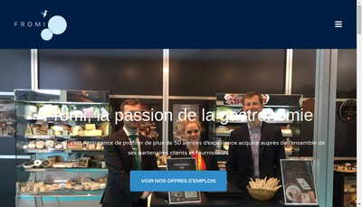Site internet de Fromi Strasbourg