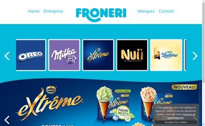 Site internet de Froneri Vayres SAS