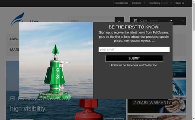 Site internet de Fulloceans
