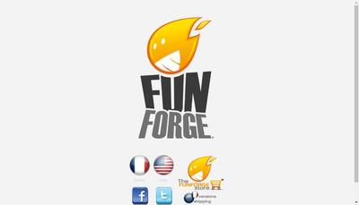 Site internet de Funforge