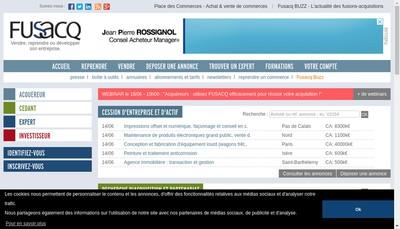 Site internet de Fusacq