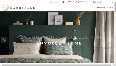 Site internet de Gabrielle