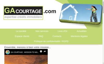 Site internet de Ga Courtage