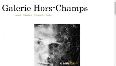 Site internet de Galerie Hors-Champs